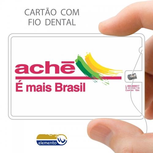 FIOCARD - cartão com fio dental