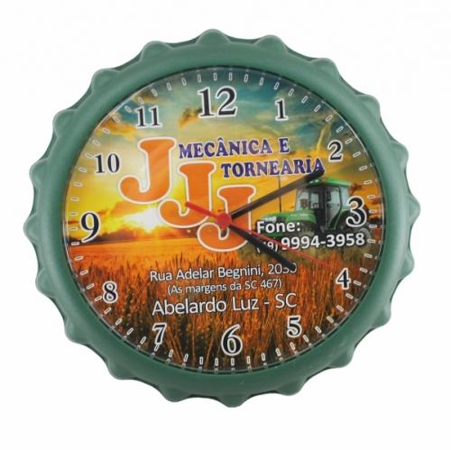 Relógio Tampa