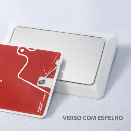 Fiocard - cartão personalizado com fio dental e espelho no verso