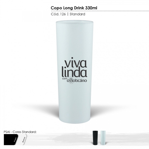 Copo Long Drink Standard