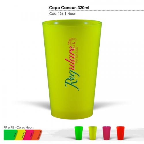 Copo México Neon