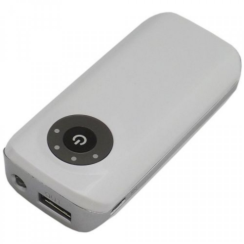 Power Bank com Lanterna e Led 1.800 mAH - 12792