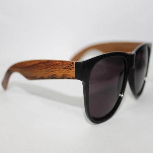 Óculos Personalizado Textura Madeira