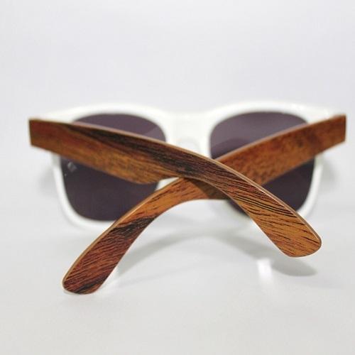Óculos de sol Madeira (textura/imitação)