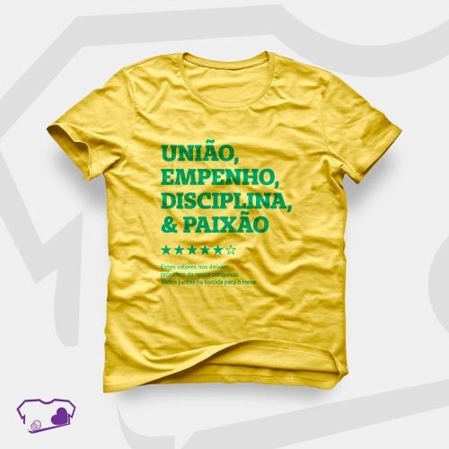 Camiseta Amarela em Silkscreen