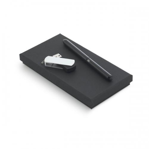 Conjunto Caneta e Pen Drive