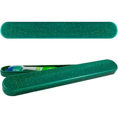 Porta Escova  Dental Green Colors