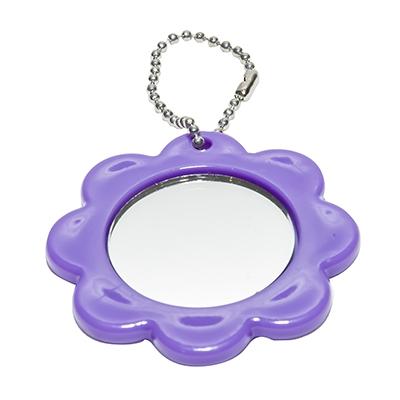 Espelho chaveiro flor