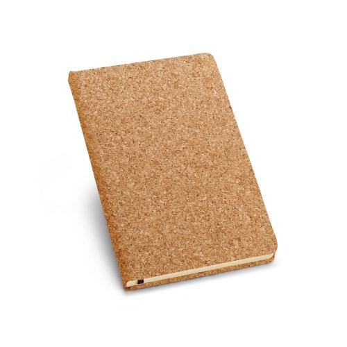 Caderno capa dura cortiça