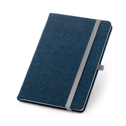 Caderno capa dura jeans