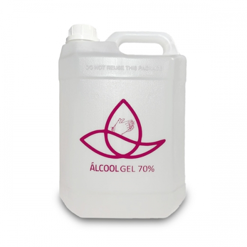 Álcool Gel 70% antisséptico 5 Litros