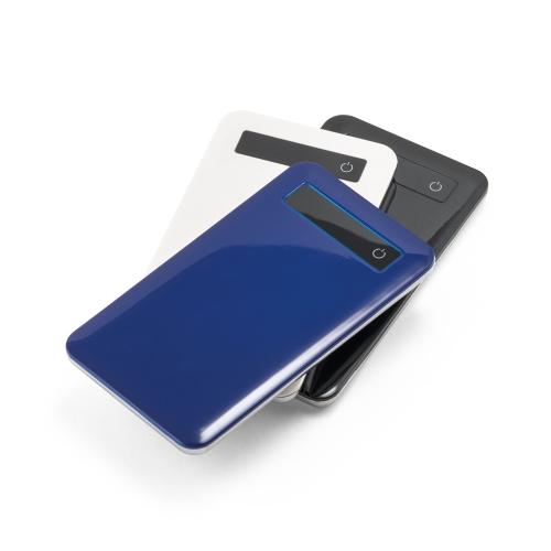 Bateria portátil touch e indicador de carga