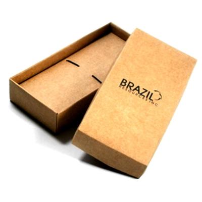 BOX DE CANETA EM PAPEL CRAFT