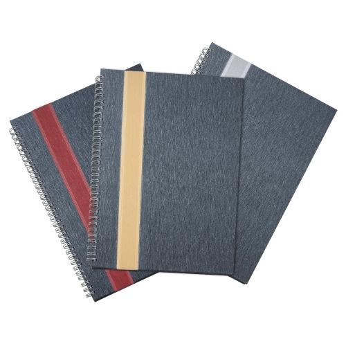 Caderno Grande com Faixa personalizado