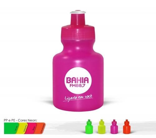 Squeeze 300ml Resistente e Flexível com Bico de PVC Cristal