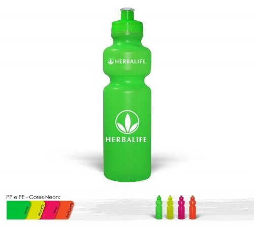 Squeeze 750ml Resistente e Flexível com Bico de PVC Cristal