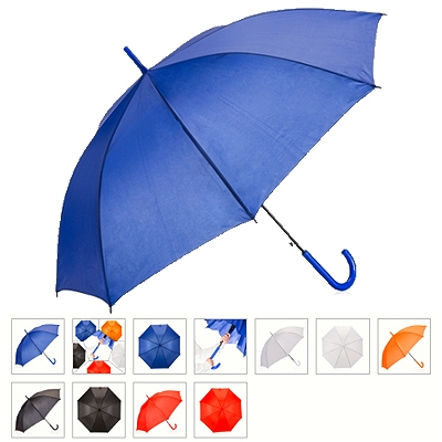 Guarda-Chuva colorido com tecido de Nylon.