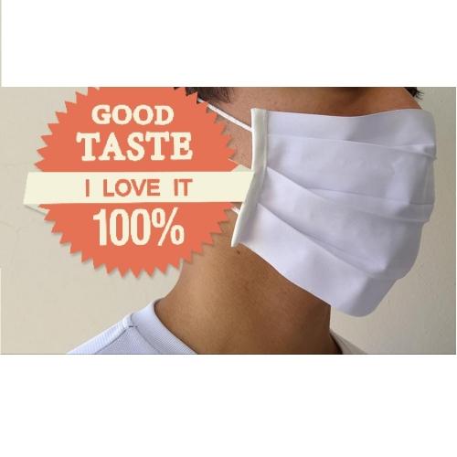 mascara de tecido lavavel