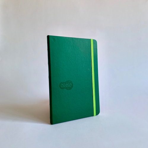 Caderneta Ciceros Couro Sintético