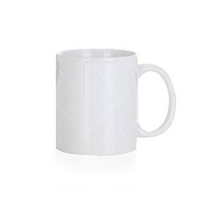 Caneca Cerâmica Branca 300ml