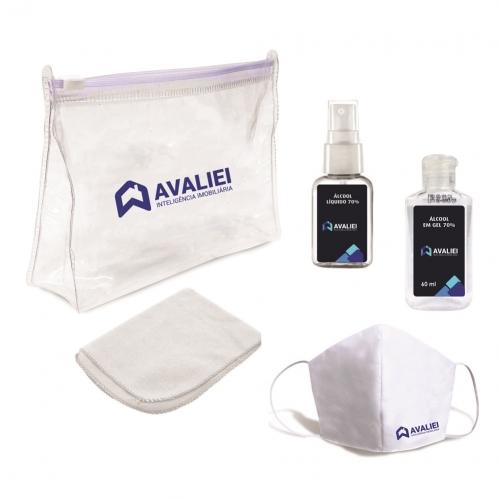 Kit Higiene para Prevenção da Covid-19