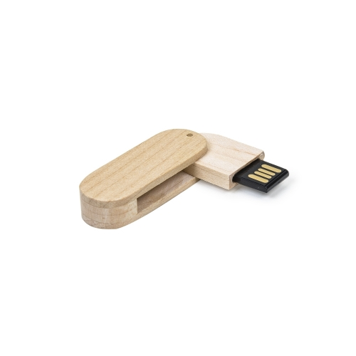 Pen Drive 4GB Bambu Giratório 033-4GB