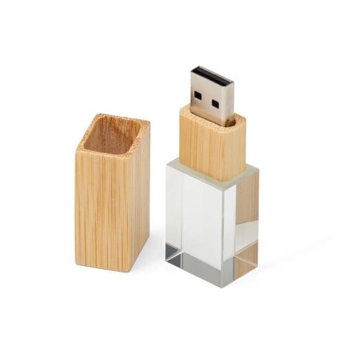 Pen Drive Cristal Bambu 4GB