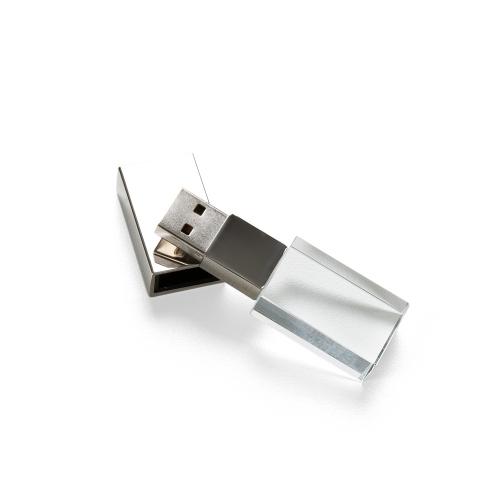 Pen Drive de Vidro 8GB