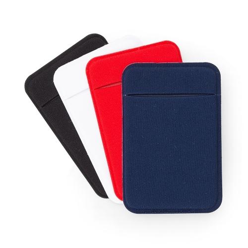 Adesivo Porta Cartão de Laycra para Celular