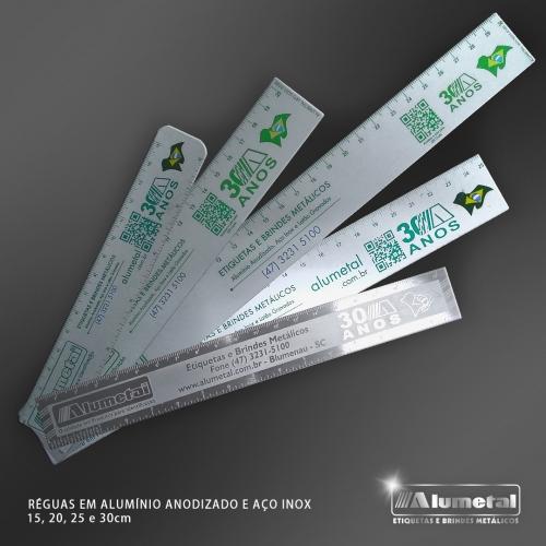 Réguas de Alumínio