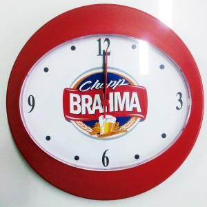 Relógio de Parede Oval 2