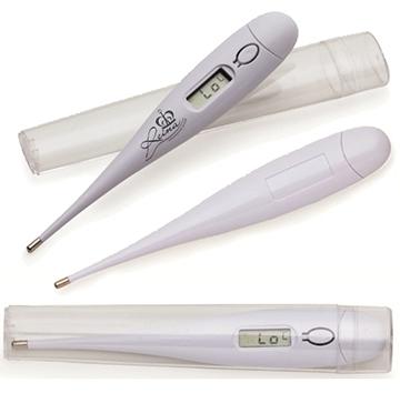 Termômetro Branco Digital