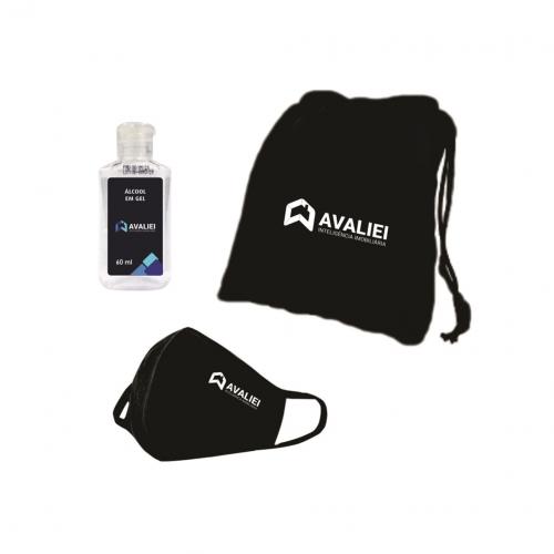 Kit Higiene Pessoal Personalizado Prevenção da Covid-19