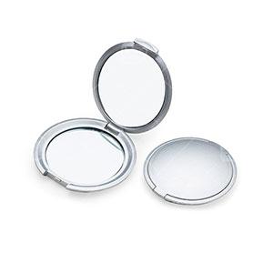 Espelho Duplo Sem Aumento Redondo