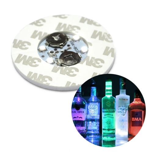 Porta copos LED 5cm e 6cm - Bolacha Adesivada para copos e garrafas - Hutz