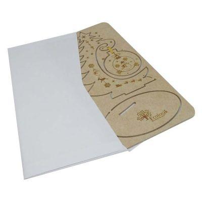 Cartão Postal de Natal 3D