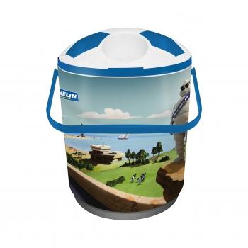 Cooler para 12 latas azul