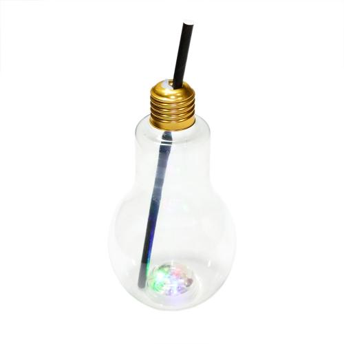 Copo Lampada Com Luz Led Multicolorido - Hutz
