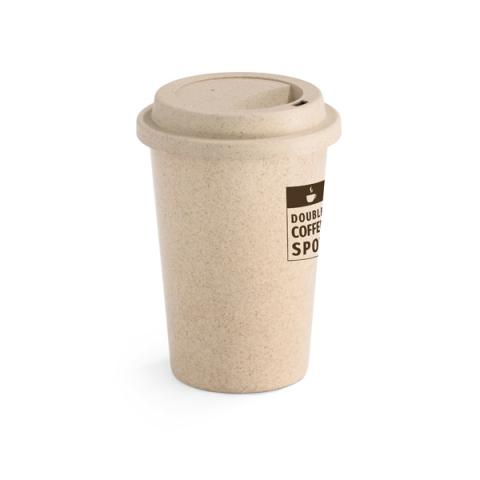 Copo ecológico com tampa