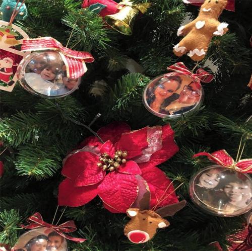 Bolas de Natal com Foto