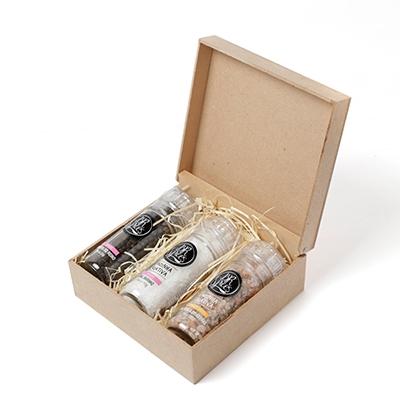 Kit de moedores com temperos especiais gourmet