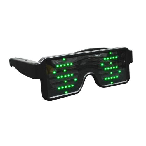 Óculos Dinâmico LED com 8 Efeitos - Hutz