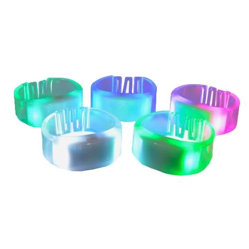 Pulseira Silicone RGB LED controlada via radiofrequênica - Hutz