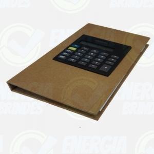 Bloco Personalizado com calculadora