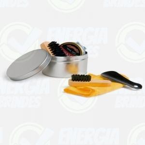 Kit caixa de Engraxar e Polimento de Sapato Personalizado