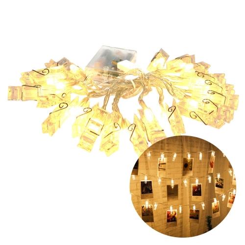 Varal com luz LED para 20 fotos - Hutz