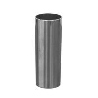 Copo longdrink metalizado prateado
