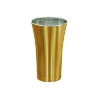Copo Space metalizado dourado