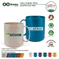 Caneca Redonda Green Colors 400ml