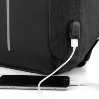 Mochila Anti-Furto USB